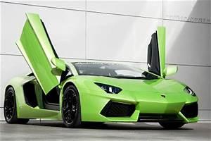 Cars Carsandgirlsslamborghini Aventador Lime