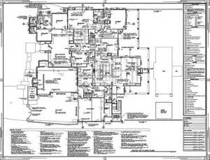 construction floor plans scottsdale custom home brian romney archinect