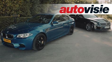 Review Bmw M5 Competition Package Versus Cadillac Cts-v