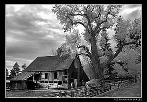 Old Barn, Reno, Nevada, Isolation, abandoned house, black ...