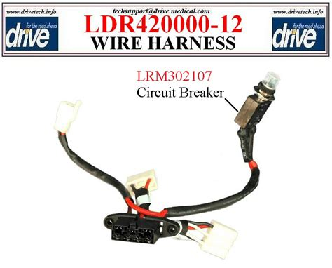 Cobalt Wiring Harnes by Cobalt Power Chair Wiring Harness Drive Ldr420000