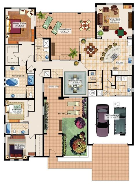 cool sims  house floor plans