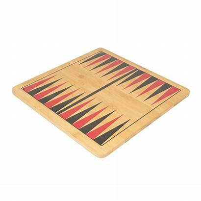 Chess Backgammon Checkers Games 3in1 Wooden Board
