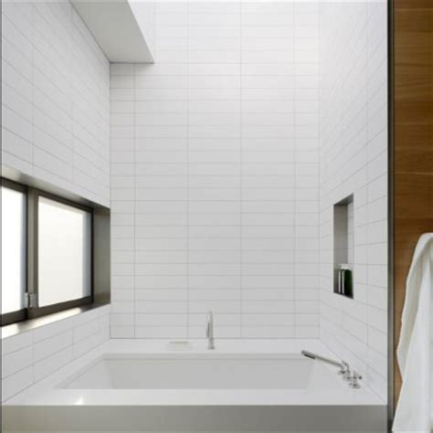 travertine tile for shower beveled tile beveled subway tile westside tile and