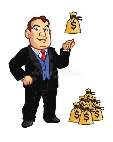 银行家 向量例证. 插画 包括有 - 56358324