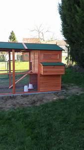 Chemin Des Poulaillers : exemple d 39 installation du poulailler janz ~ Melissatoandfro.com Idées de Décoration