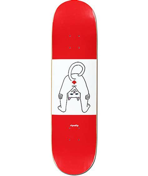skateboard decks canada ripndip canada stinks 8 0 quot skateboard deck