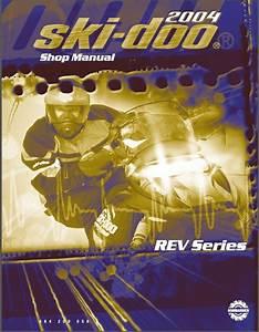 2004 Ski-doo Rev Snowmobiles Service Repair Manual Cd