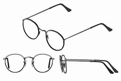 Round Frames Glasses Face Eyeglasses Frame Lennon