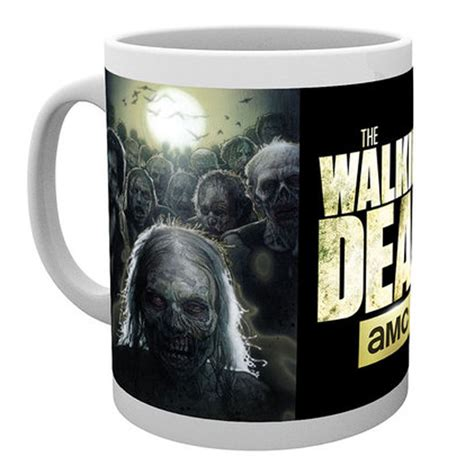 zombies mug walking dead merchandise merch