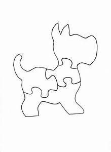 Holzpuzzle - Basteln: Bastelforum de