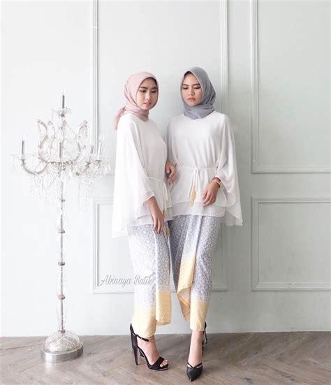 hawa blouse by abinaya butik best 25 kebaya muslim ideas on dress