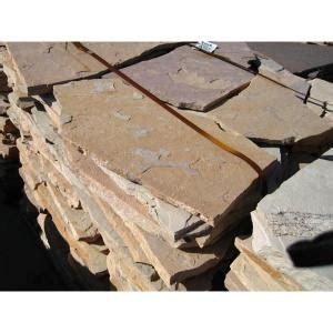 16.71 cu. ft. Crab Orchard Flagstone 128361   The Home Depot