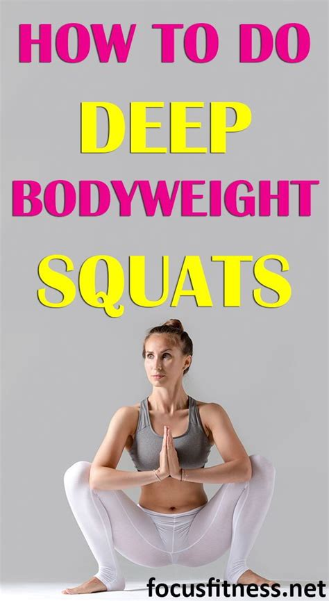 deep squats bodyweight benefits focusfitness squat squatting malasana weight body ultimate guide deeper enjoy want yoga pose gain workouts