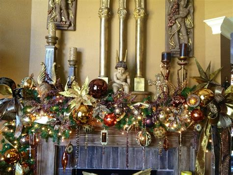 christmas mantel garland christmas tree decorations