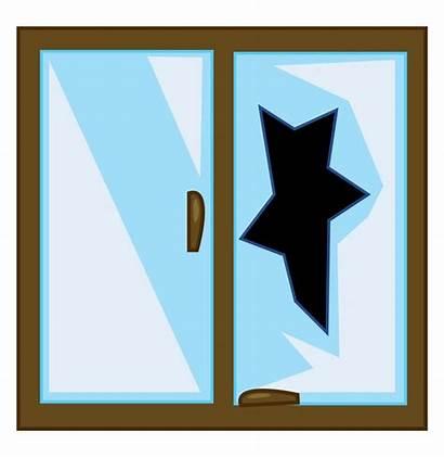 Broken Glass Clipart Window Illustration Willful Drawing