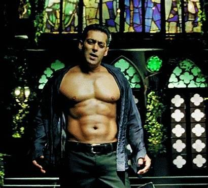 Shirtless Salman Khan His Actor Birthday Run