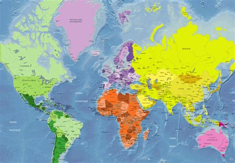 La Vrai Carte Du Monde by Geograf 205 A 3 186 Eso Carte Du Monde