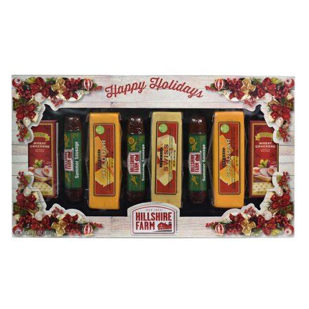 hillshire farm christmas gift set hillshire farm 3 summer sausages 3 cheese gift set walmart