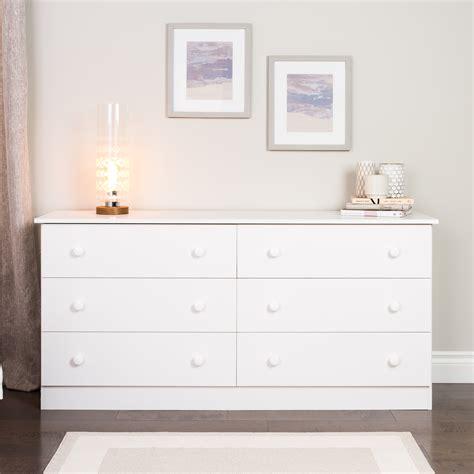 prepac white edenvale  drawer dresser home furniture