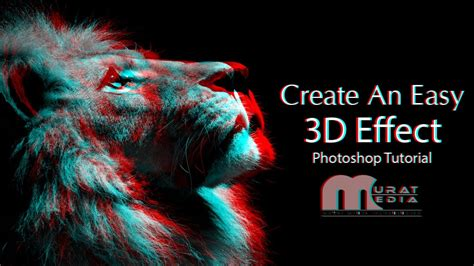 create a stereoscopic 3d effect 3d effects create an easy 3d effect advanced photoshop tutorial in
