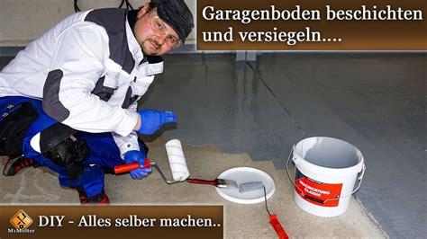 garagenboden selbst beschichten garagenboden selbst beschichten mit easyground beschichtung classic anleitung