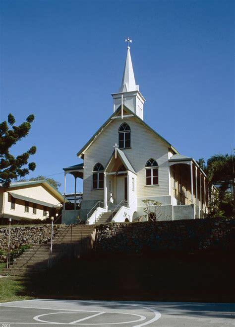 lady   sacred heart church thursday island