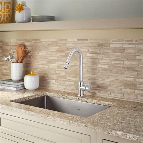 Pekoe 1 Handle Pull Down High Flow Kitchen Faucet