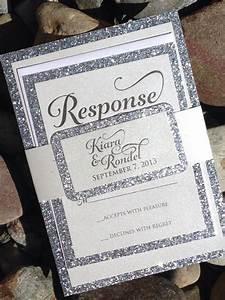 glitter wedding invitation silver glitter by With glitter wedding invitations online