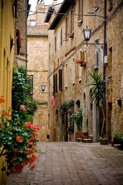 Town Of Pienza In Tuscany Italy ~ Architecture Photos