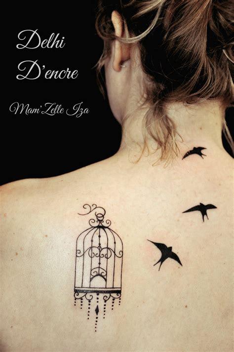 Tatouage Oiseau En Cage  Modèles Et Exemples