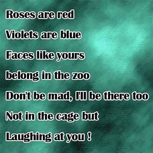 Funny Roses Are Red Poem Jokes Memes U0026 Pictures