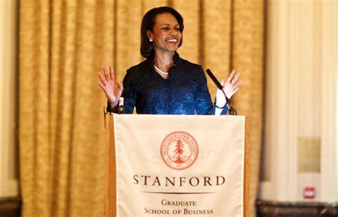 condoleezza rice biography stanford for california