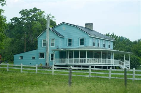 big farm house 151 365 the big blue farm house pennsylvania won the priz flickr