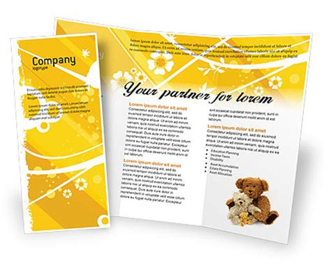 googleial brochure templates 0 html teddy bear brochure template design and layout download