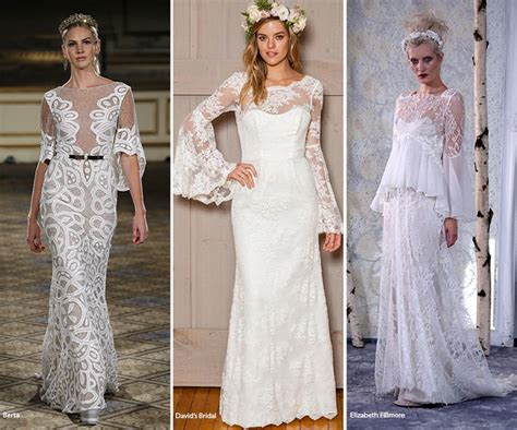 Wedding Dresses With Sleeves : Fall 2016 Bridal Trends