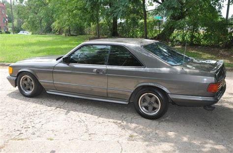 Find Used 1983 Mercedes-benz 500-sec Gun Metal Grey W/ Amg
