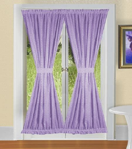 DESIGNER MODERN CURTAINS   SOLID LIGHT PURPLE (LILAC