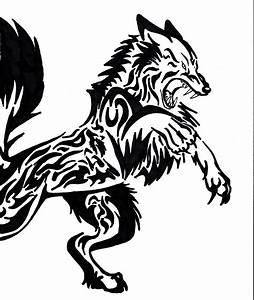 Tribal Wolf Tattoo : goat tattoo images designs ~ Frokenaadalensverden.com Haus und Dekorationen