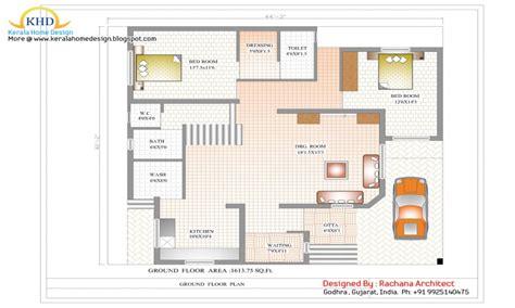 duplex house designs floor plans simple duplex house design  sq ft floor plan treesranchcom