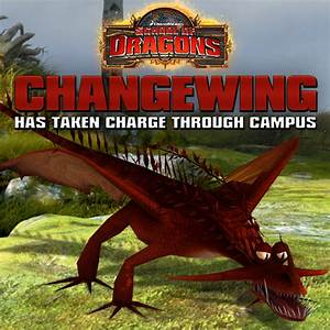 Introducing the CHANGEWING!!! | School of Dragons | How to ...