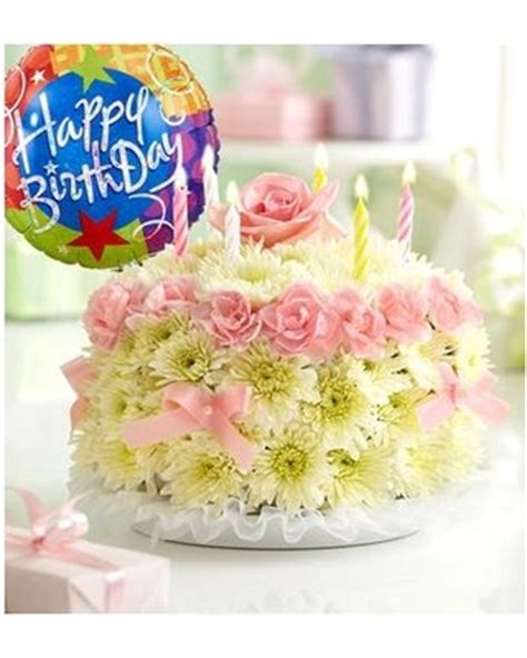 Bhg Kitchen And Bath Ideas - hot summer sales on birthday flower cake pastel with happy birthday balloon by 1 800 flowers