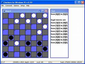 Amiga Light Checkers For Windows 95 Download 1996 Strategy Game