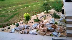 muret et enrochement paysagers jardin nature paysagiste With grosse pierre decoration jardin 2 la galerie photos les jardins de bastide paysagiste