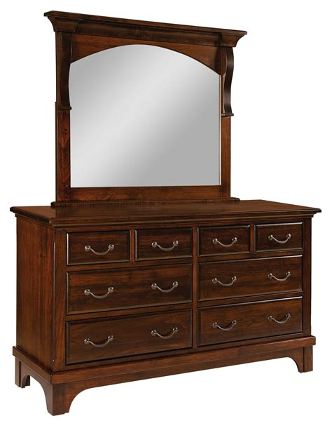 Furniture Stores Dressers by Hamilton Court 8 Drawer Dresser Amish Furniture Store