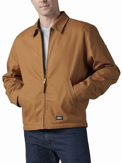 Dickies Lined Genuine Jacket Canvas Duck Brown