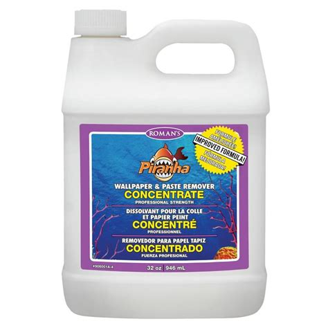 Shop Piranha 32oz Concentrate Wallpaper Remover At Lowescom