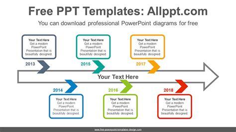 zigzag chevron arrow powerpoint diagram template