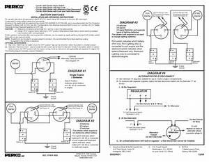 Perko Switch Wiring Sante 2001 Gt 40  2 Batteries