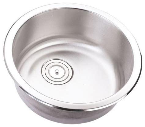 round stainless steel sink 18 inch stainless steel undermount single bowl kitchen